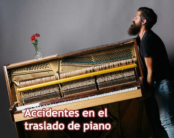 Accidents during the transport of a piano